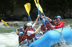 Whitewater Rafting on an Educational Ecotour with Chill Expeditions